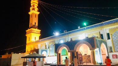 صورة «توكلنا» شرط لدخول مسجد الحمزة بن عبد المطلب في سيهات