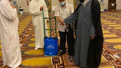 صورة السيد النمر يدشّن مبادرات مسجد الحمزة للكوادر والمصلّين
