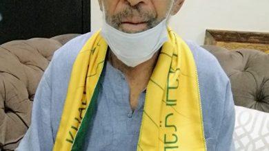 صورة «قديمك نديمك» تزور نجم الخليج السابق بحضور رئيس النادي